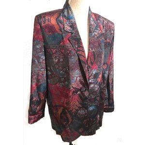 Vintage Southwestern 90's blazer jacket